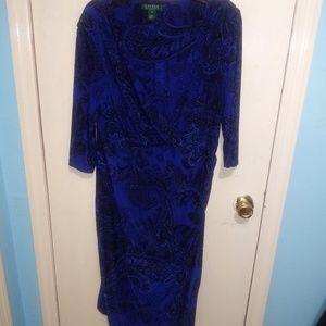 Lauren Ralph Lauren Wrap Dress